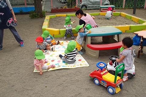 園庭遊び1